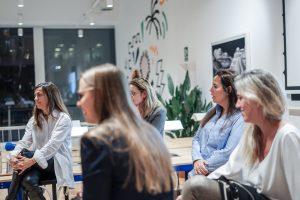 Clara Lapiedra, Gemma Sorigué, Delberry, Sara Werner, Cocunat, Victoria Gago, European Blockchain Convention, Taryn Andersen, Impulse4Women, Founders Institute, emprendedoras