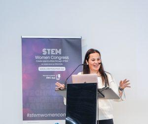 Clara Lapiedra, wompreneur, STEM women congress, STEM women, espai BITal