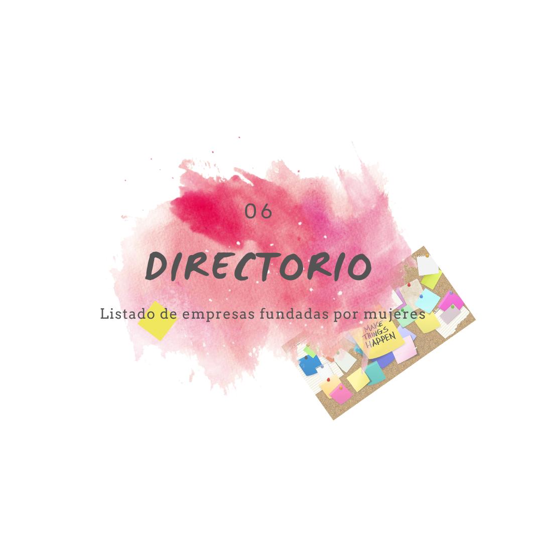 Directorio Wompreneur de empresas fundadas por mujeres